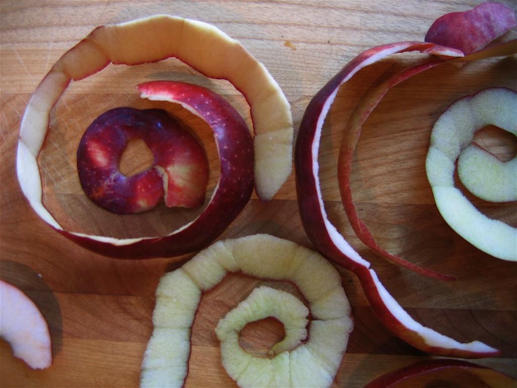 jablečná slupka