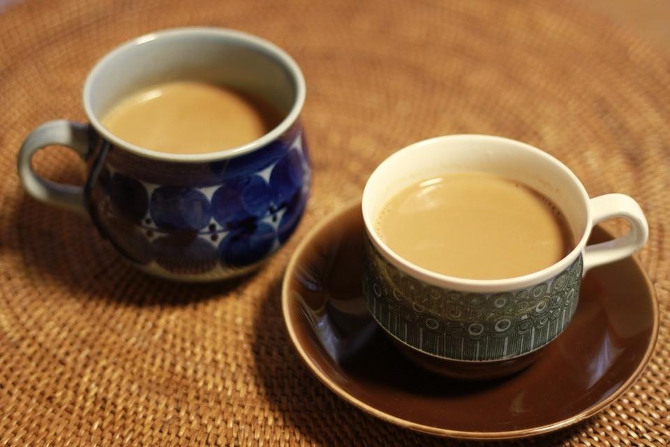 čaj s mlékem