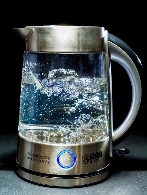 horká voda