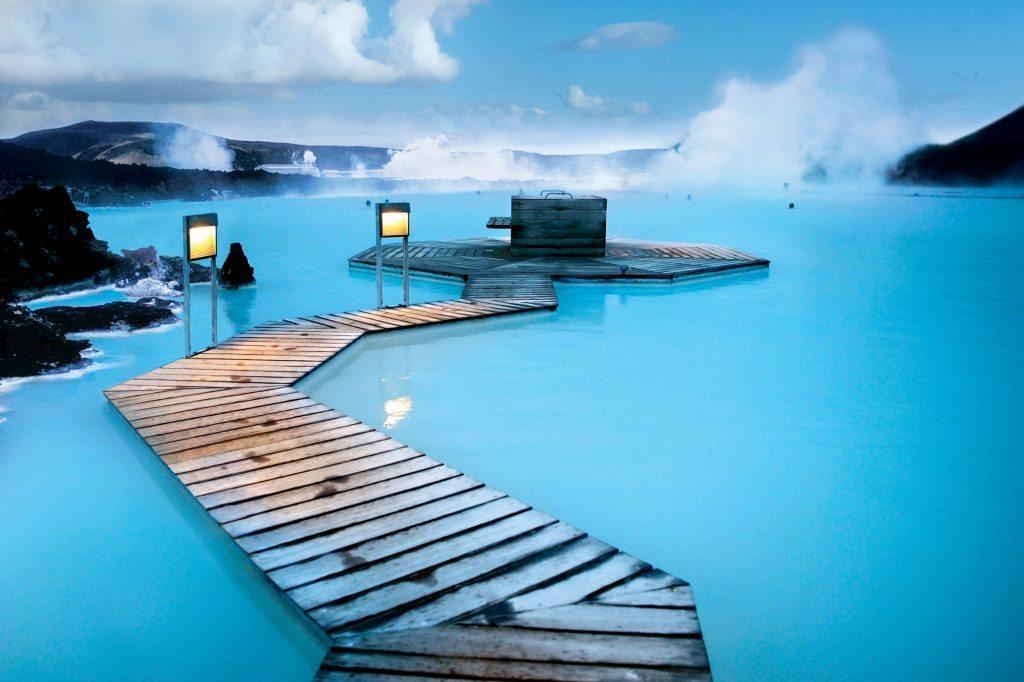 Iceland,Blue Lagoon,Hot Spring