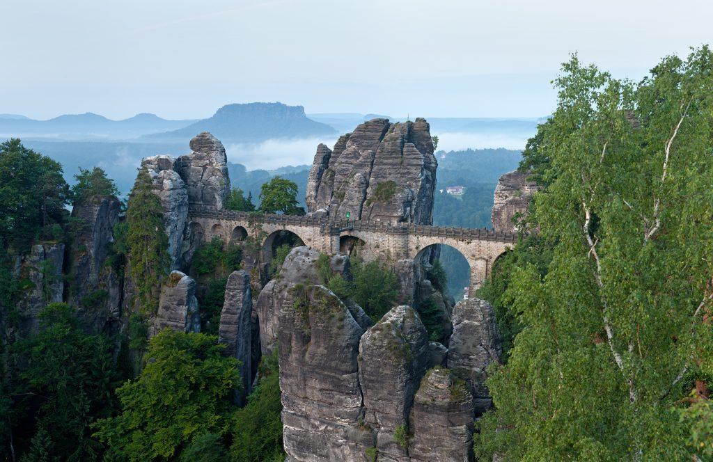 Basteibrücke_morgens